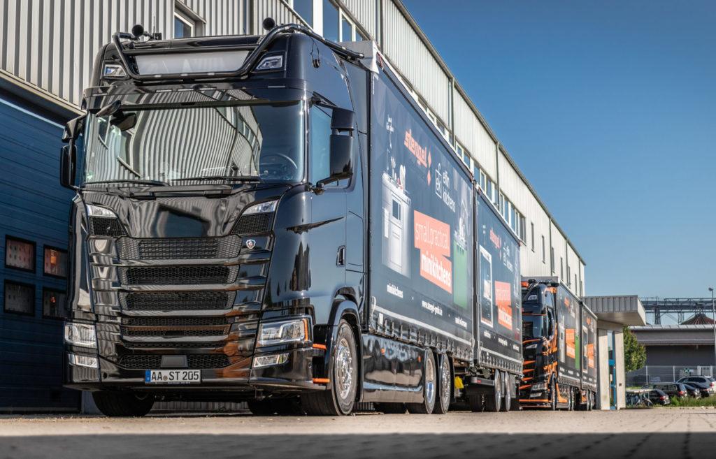 Stengel Truck Auslieferung Küchen