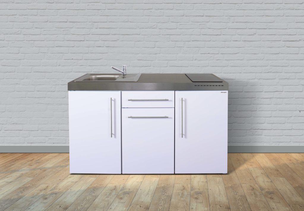 Pantryküche Miniküche weiß MP 150