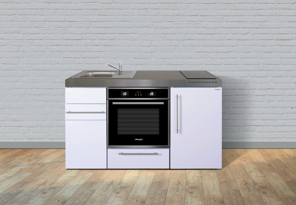 Kompaktküche Premiumline MPB 150 weiß
