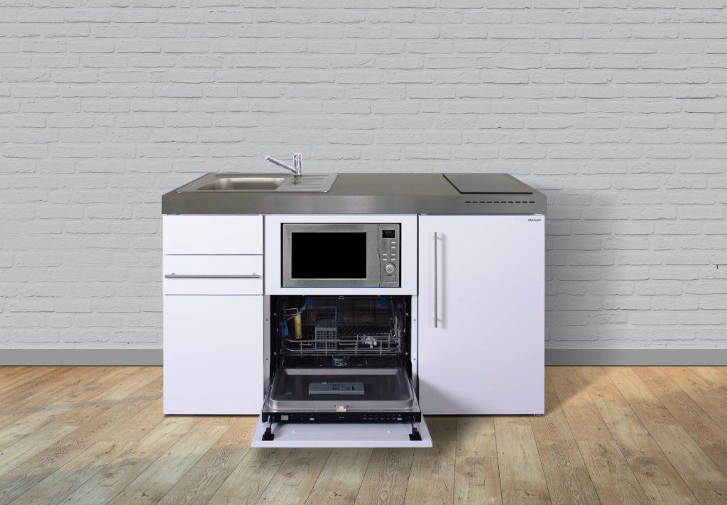 Kompaktküche Premiumline MPGSM 150 weiß offen