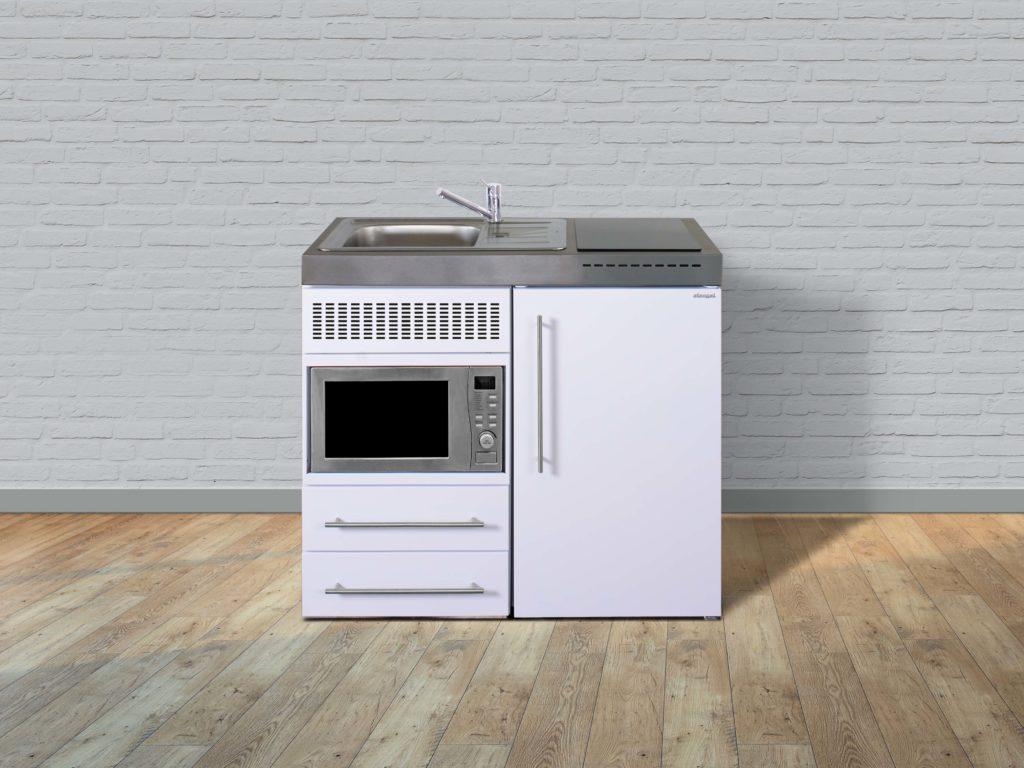 Küche weiß MPM 100 Metall