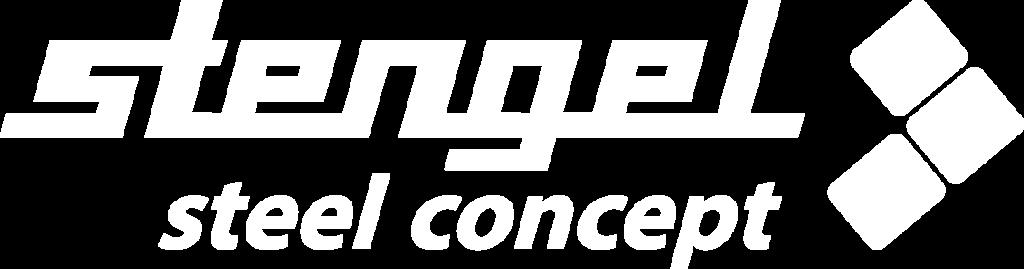 Stengel Steel Concept Logo weiß