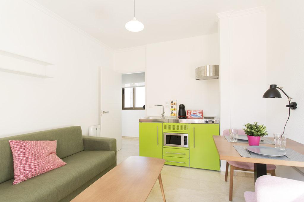 Stengel Küche grün Ansicht