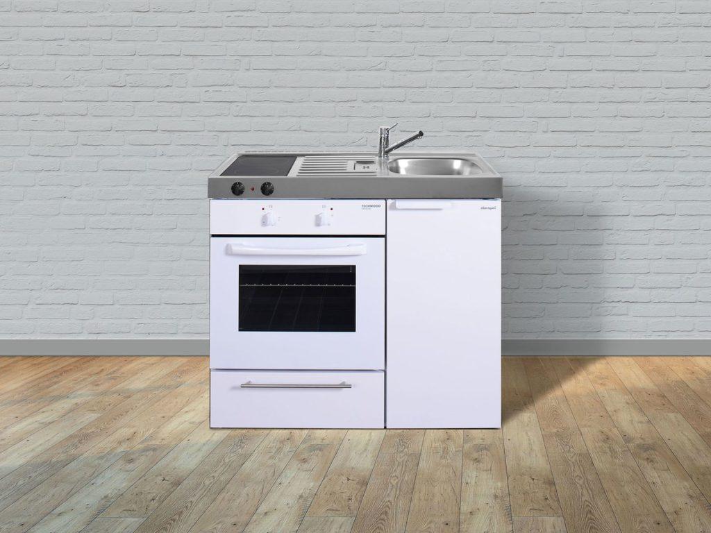 Miniküche weiß MKB 100 Stengel