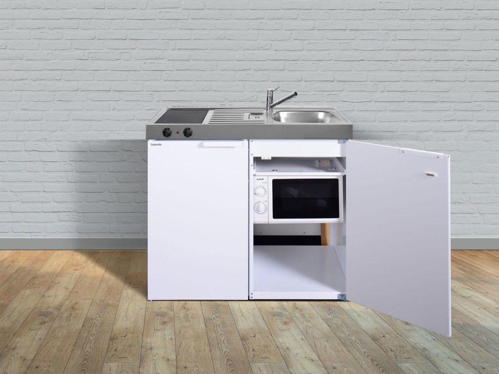 Stengel Miniküche Kitchenline MKM 100 weiß