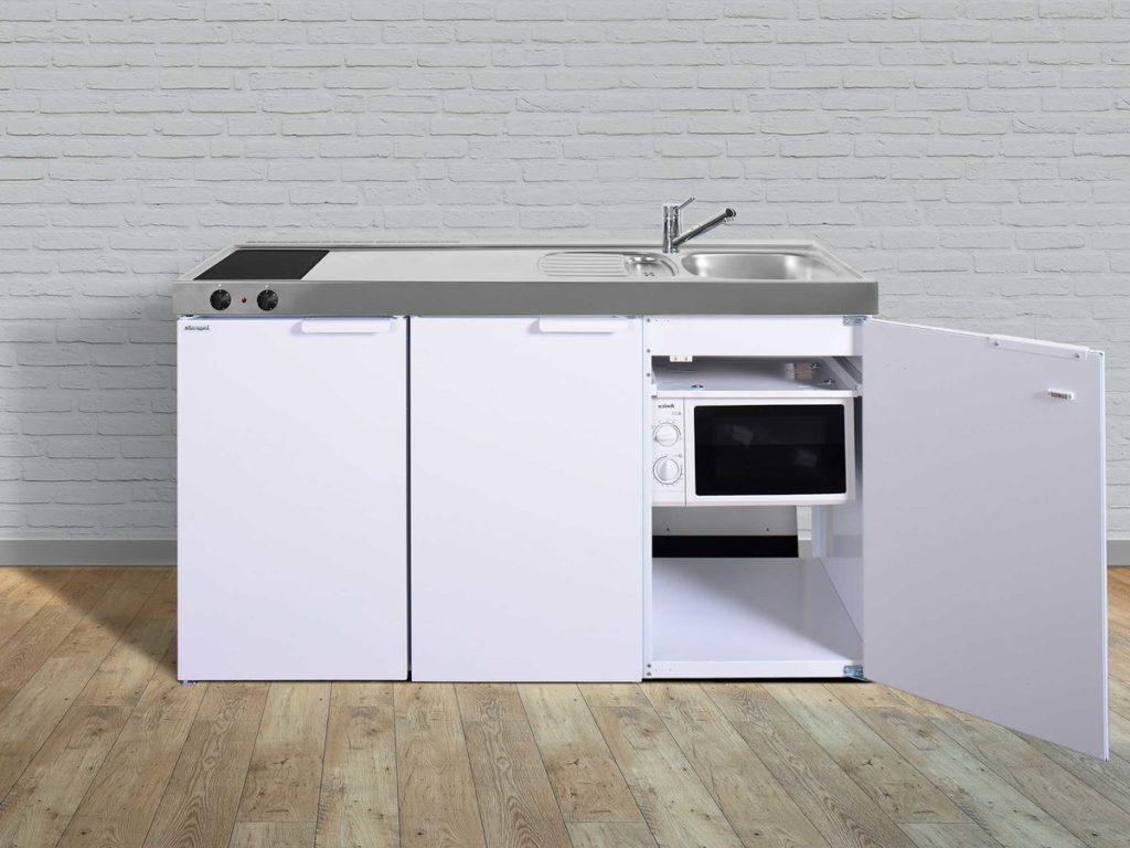 Stengel Miniküche Kitchenline MKM 150 weiß