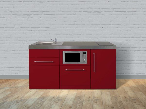 Miniküche Premiumline MPGSM 170 rot