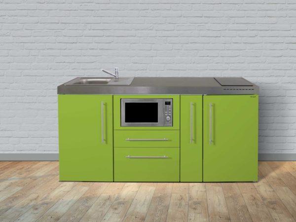 Stengel Miniküche MPM 180a mit Kühlschrank und Mikrowelle grün