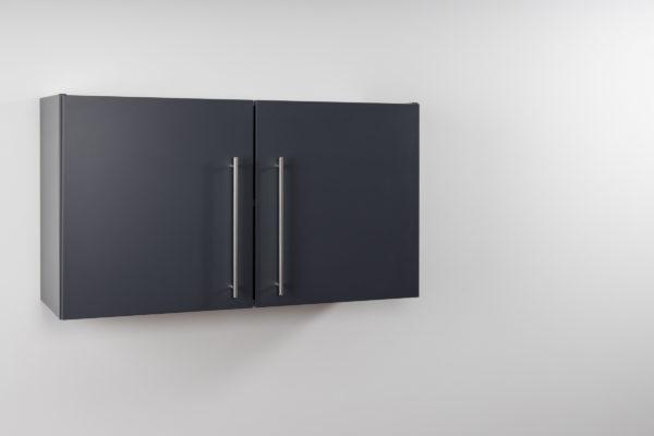Hängeschrank Premium HSPL 100 geschlossen Schiefer