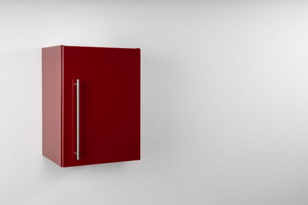 Hängeschrank Premium HSPL 40 geschlossen rot