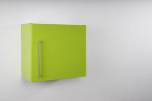 Hängeschrank Premium HSPL 60 geschlossen grün
