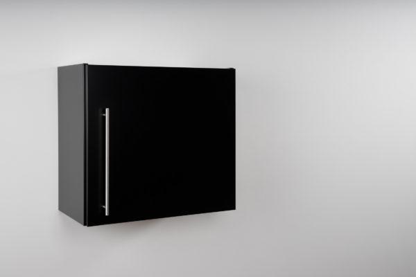 Hängeschrank Premium HSPL 60 geschlossen schwarz