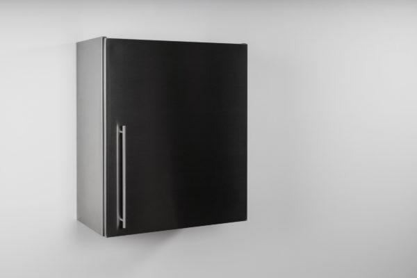 Hängeschrank Premium HSPL 60 Edelstahl geschlossen