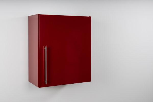 Hängeschrank Premium HSPL 60 geschlossen rot