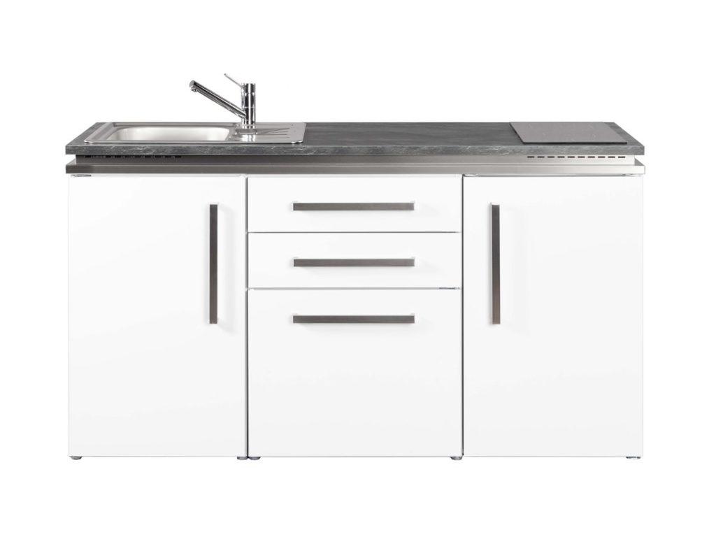 Pantry Metallküche MD 160 Designline weiß