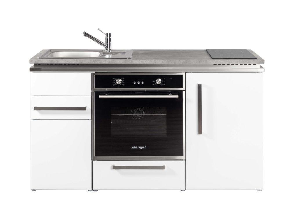 Miniküche Stengel Designline MDB 150 weiß