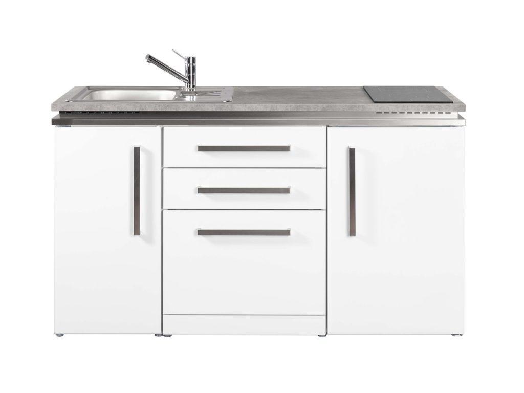 Miniküche Stengel Designline MDGS 150 weiß