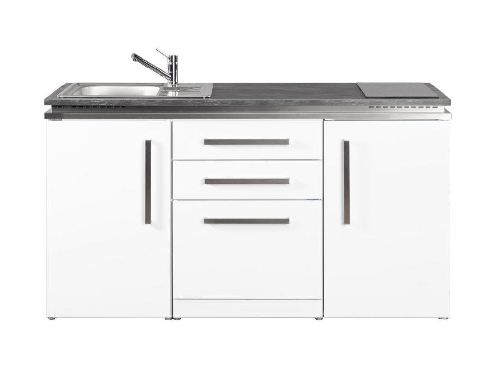 Miniküche Designline MDGS 160 Stengel weiß