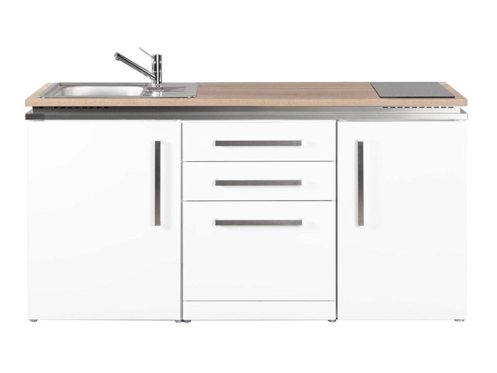 Metallküche Designline MDGS 170 Stengel weiß
