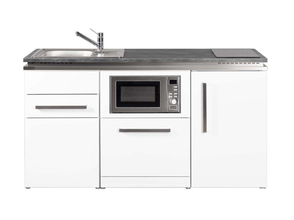 Singleküche Stengel MDGSM 160 Designline weiß