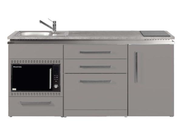 Pantryküche MDGSMOS 180 mit Kühlschrank Designline