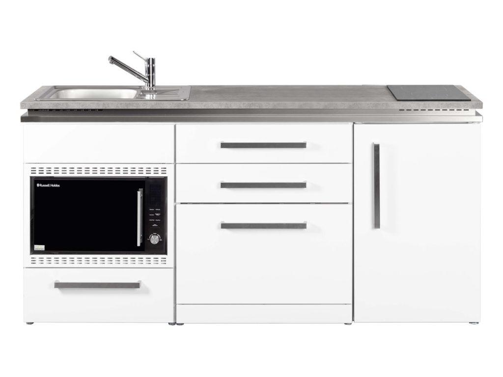 Miniküche MDGSMOS 180 weiß Designline