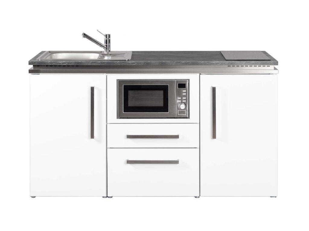 Pantryküche Designline MDM 160 Stengel weiß